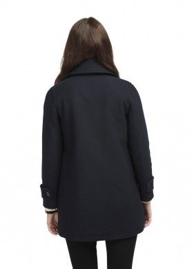 Картинка Пальто-бушлат Original Montgomery Womens Bridge Coat Navy