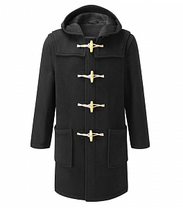 Картинка Original Montgomery Mens Monty Duffle Coat BLACK