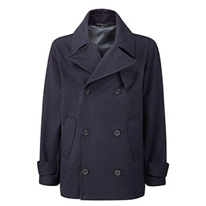 Мужской бушлат Original Montgomery Pea Coat Navy