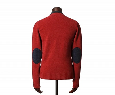 Картинка Eric V-Neck Jumper Red