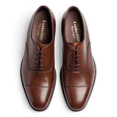 Картинка Loake Aldwych Dark Brown