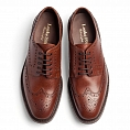 Loake Badminton Dark Brown