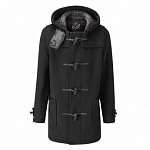 Картинка Пальто-дафлкот Gloverall Mid C Check 3251 Black