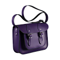 11-inch Classic Satchel Deep Purple