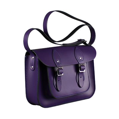 Картинка 11-inch Classic Satchel Deep Purple