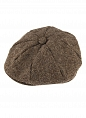 Abraham Moon Tweed 8 Piece Cap Chocolate