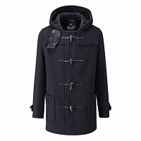 Картинка Пальто-дафлкот Gloverall Mid C Check 3251 Navy