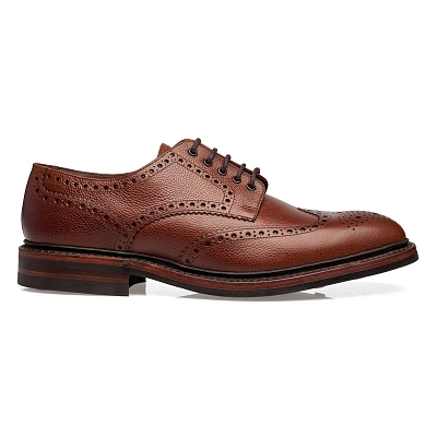 Картинка Loake Badminton Dark Brown