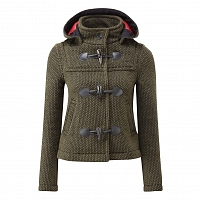 Картинка Женское пальто дафлкот Womens Mayfair Knitted Duffle Olive