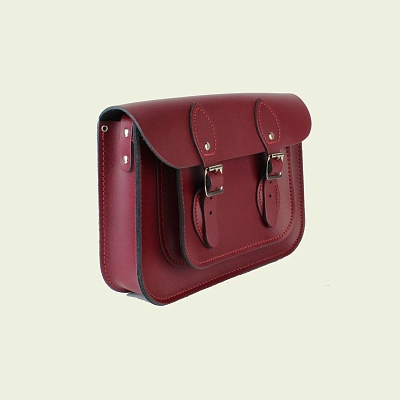 Картинка 11-inch Classic Satchel Royal Claret