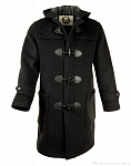 Картинка Пальто-дафлкот British Duffle Long Duffle Coat Charcoal
