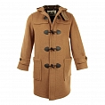 Пальто-дафлкот British Duffle Long Duffle Coat Camel