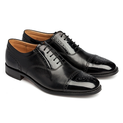 Картинка Loake Woodstock Black