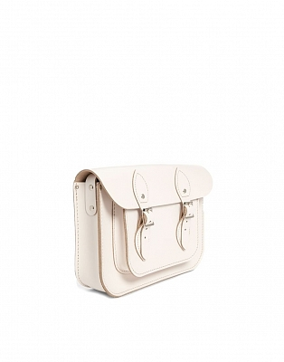 Картинка 11-inch Classic Satchel Cloud Cream
