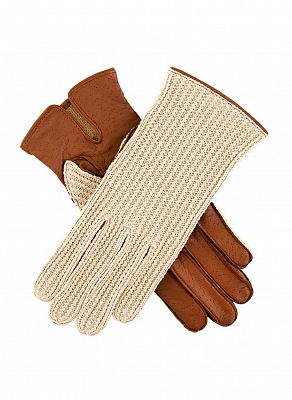 Картинка Dents Women's Crochet Back Driving Gloves